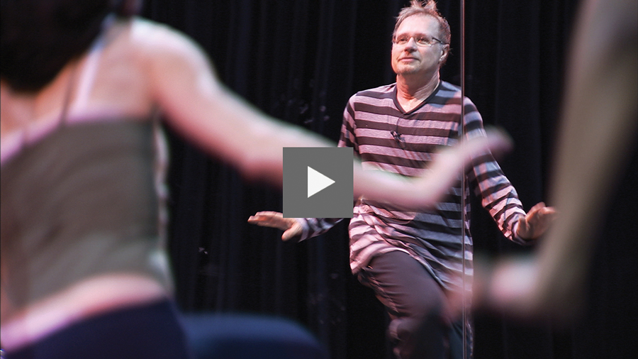 Vincent Paterson, The Man Behind The Throne, 2014 San Francisco Dance Film Festival