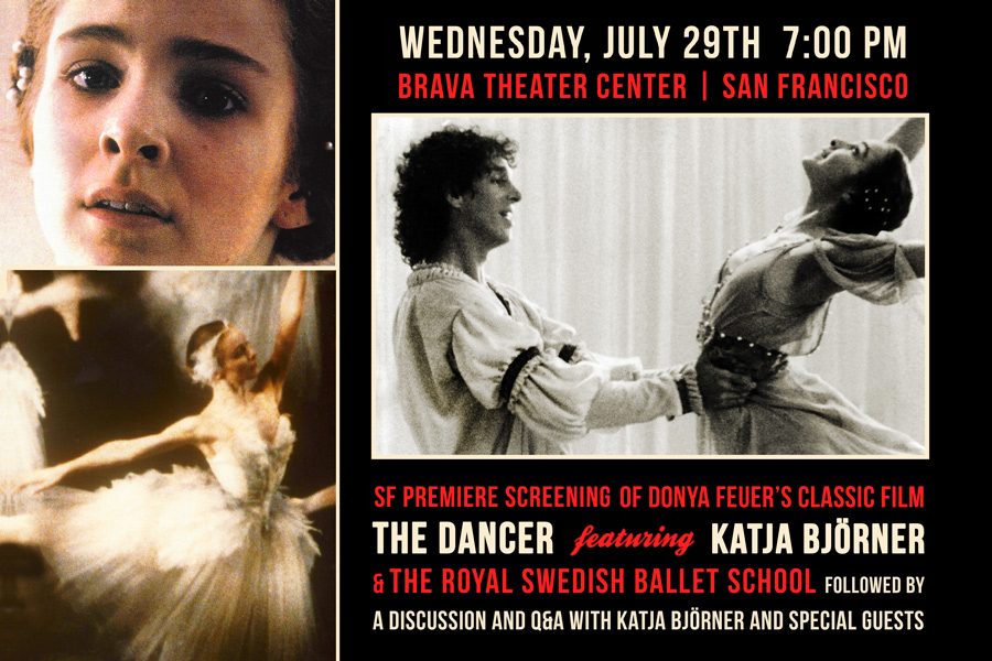 Events Archive, SFDFF Presents the SF Premiere Screening of THE DANCER
