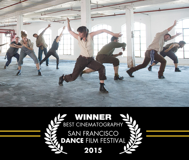 SFDFF 2015 Festival Winners, Inheritor Recordings, Director: Brian Johnson & Lisa Gelley, Choreographer: Josh Martin