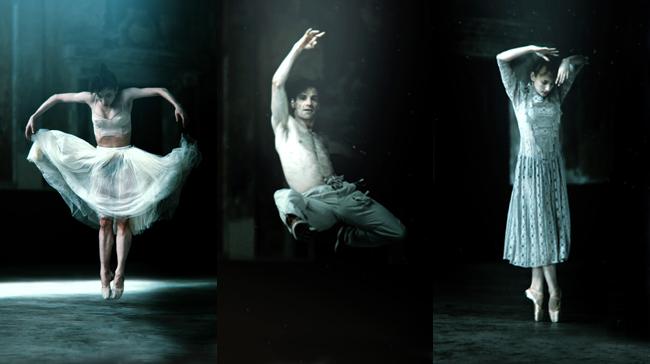 San Francisco Dance Film Festival Films 2017, Ballet Dancers in Slow Motion, Jayson Tang
