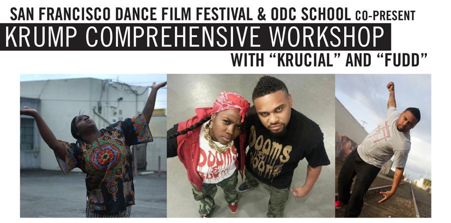 Krump Comprehensive Workshop at ODC, 2014 San Francisco Dance Film Festival
