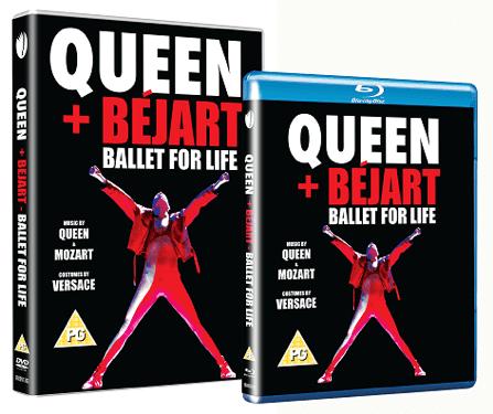 Queen + Bejart DVDs